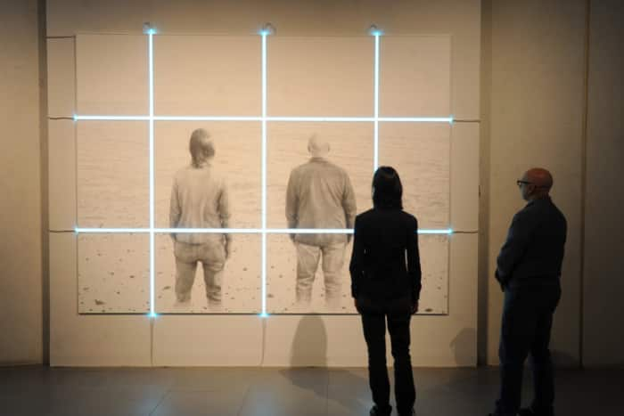 Artists explore the here and there of identity